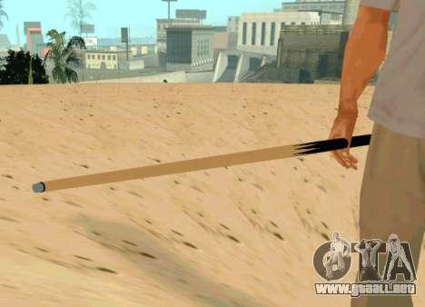 Nueva cue para GTA San Andreas segunda pantalla