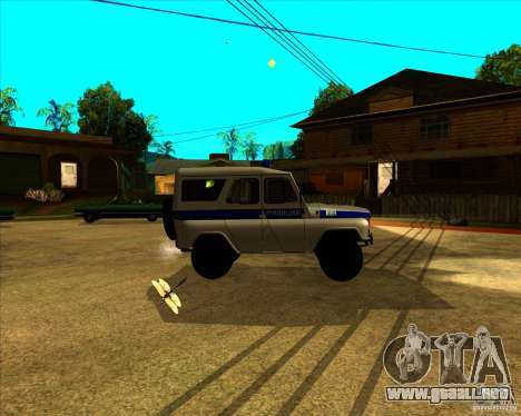UAZ 31512 para GTA San Andreas left