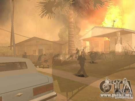 Terremoto para GTA San Andreas tercera pantalla