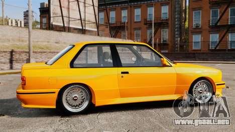 BMW M3 E30 v2.0 para GTA 4 left