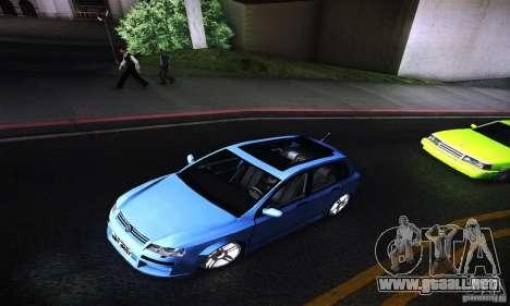Fiat Stilo Abarth 2005 para GTA San Andreas vista hacia atrás