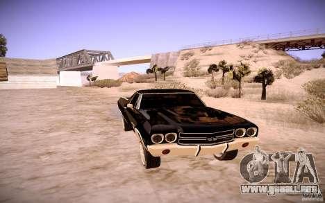 Chevrolet El Camino SS 1970 para GTA San Andreas left