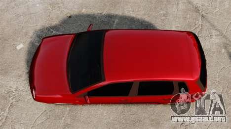 Volkswagen Polo Edit para GTA 4 visión correcta