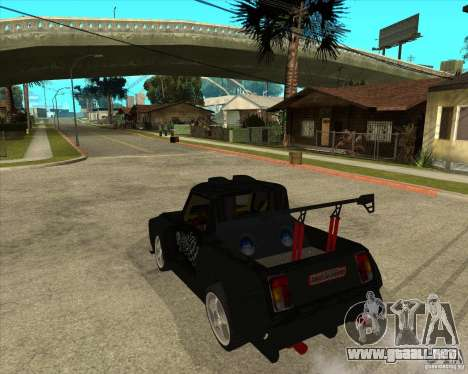 VAZ 2104 volk para GTA San Andreas left