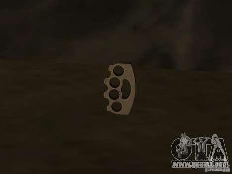 Weapon Pack para GTA San Andreas twelth pantalla
