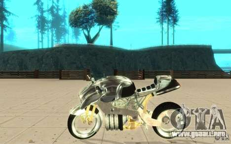 New NRG Chrome version para GTA San Andreas left
