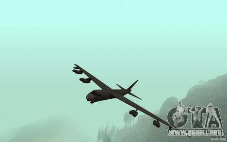 Boeing B-52 Stratofortress para visión interna GTA San Andreas