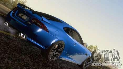 Jaguar XKR-S 2011 V1.0 para GTA San Andreas