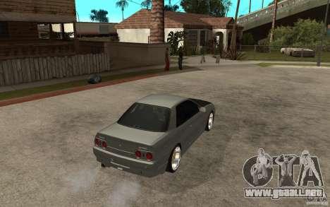 Nissan Skyline R32 - EMzone Edition para la visión correcta GTA San Andreas