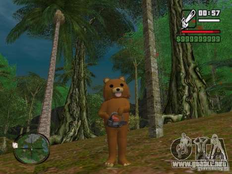 Crazy Bear para GTA San Andreas