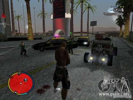 GTA IV HUD v2 by shama123 para GTA San Andreas quinta pantalla