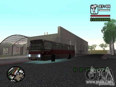 DAF CSA 1 City Bus para GTA San Andreas vista posterior izquierda