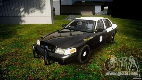 Ford Crown Victoria 2003 Florida CVPI [ELS] para GTA 4