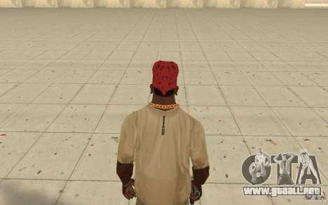 Bandana Maryshuana rojo para GTA San Andreas tercera pantalla