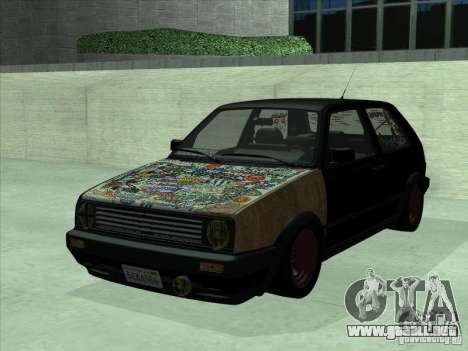 Volkswagen Golf 2 Rat Style para GTA San Andreas