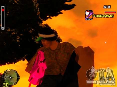 Hello Kitty weapon para GTA San Andreas segunda pantalla