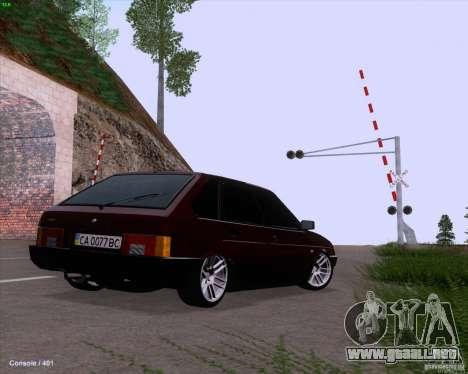 VAZ 2109 para el motor de GTA San Andreas