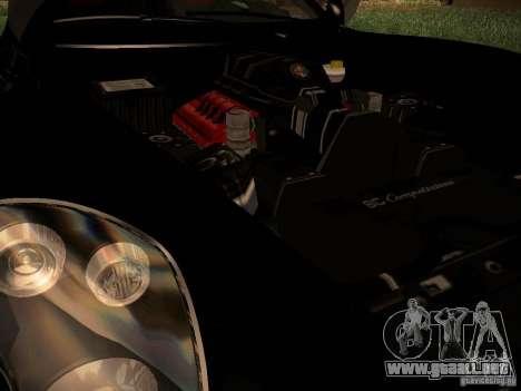 Alfa Romeo 8C Spider 2012 para la visión correcta GTA San Andreas