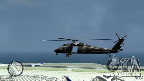 U.S. Air Force (annihilator) para GTA 4 left