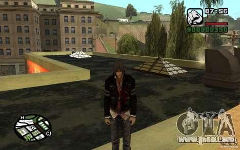 Alex Mercer v2.0 para GTA San Andreas segunda pantalla