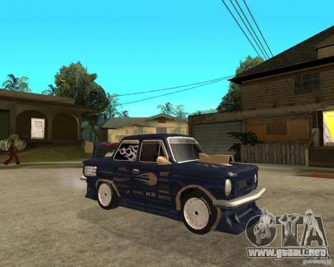 ZAZ-968 m STREET melodía para la visión correcta GTA San Andreas