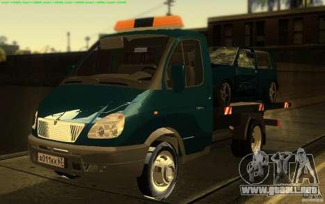 Camión de remolque 14 3302-gacela para GTA San Andreas