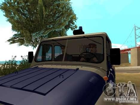 Policía de la URSS para GTA San Andreas tercera pantalla