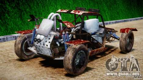 Buggy Avenger v1.2 para GTA 4 vista lateral