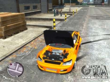 Sultan RS HD FreeStyle Team para GTA 4 visión correcta