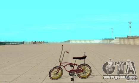 CUSTOM BIKES BIKE para GTA San Andreas left