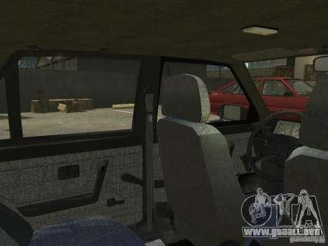 FSO Polonez para GTA 4 interior