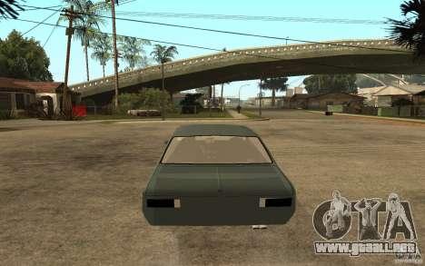 Chevrolet Cheville para GTA San Andreas vista posterior izquierda