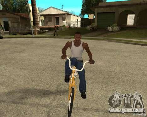 Cigüeña para GTA San Andreas vista hacia atrás