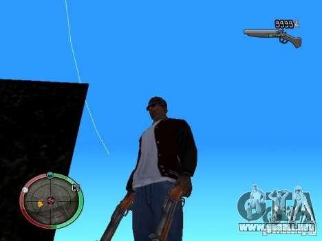 Cambiar el estilo de ajuste y Usi para GTA San Andreas segunda pantalla