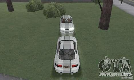 Toyota Celica GT4 2000 para visión interna GTA San Andreas
