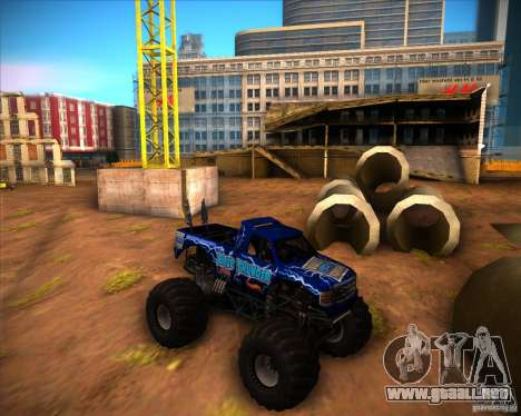 Monster Truck Blue Thunder para GTA San Andreas