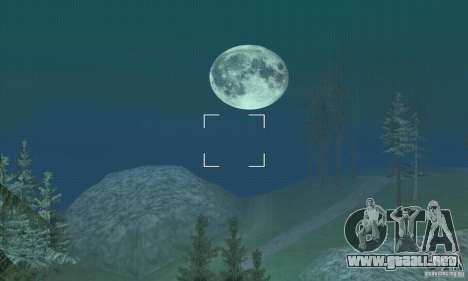 Alrededor de la luna para GTA San Andreas