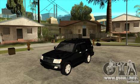 Toyota Land Cruiser 100vx v2.1 para GTA San Andreas left