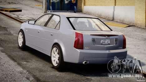 Cadillac CTS-V para GTA 4 vista lateral
