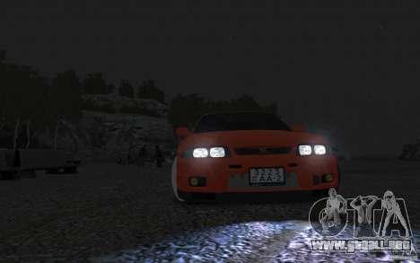 Nissan Skyline para GTA 4 Vista posterior izquierda