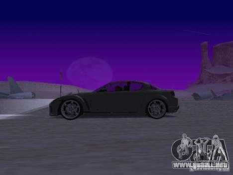 Mazda RX-8 Veilside para GTA San Andreas left