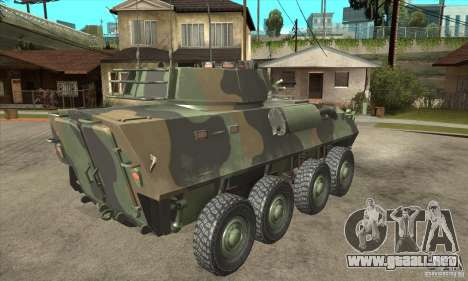 LAV-25 para la visión correcta GTA San Andreas