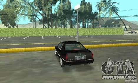 Cadillac Eldorado 1996 para GTA San Andreas left
