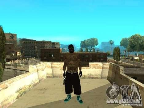 Varrios Los Aztecas Gang Skins para GTA San Andreas segunda pantalla