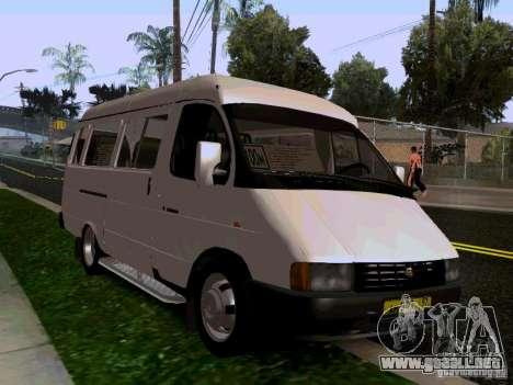 Gacela 32213 1994 para la visión correcta GTA San Andreas