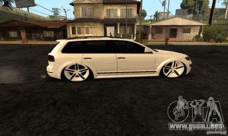 Volkswagen Touareg Dag Style para GTA San Andreas left