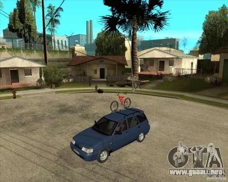 VAZ 2111 para visión interna GTA San Andreas