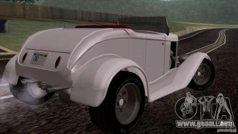 Ford Roadster 1932 para la visión correcta GTA San Andreas