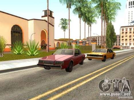 ENBSeries by Sashka911 para GTA San Andreas segunda pantalla