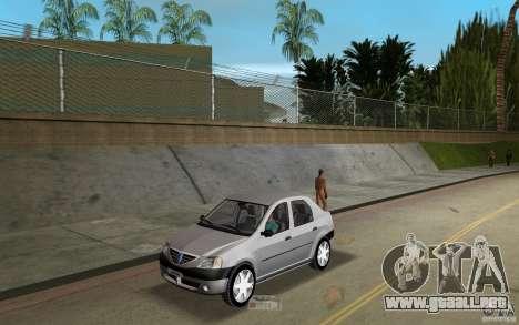 Dacia Logan 1.6 MPI para GTA Vice City